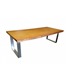 African Tali wood dining table
