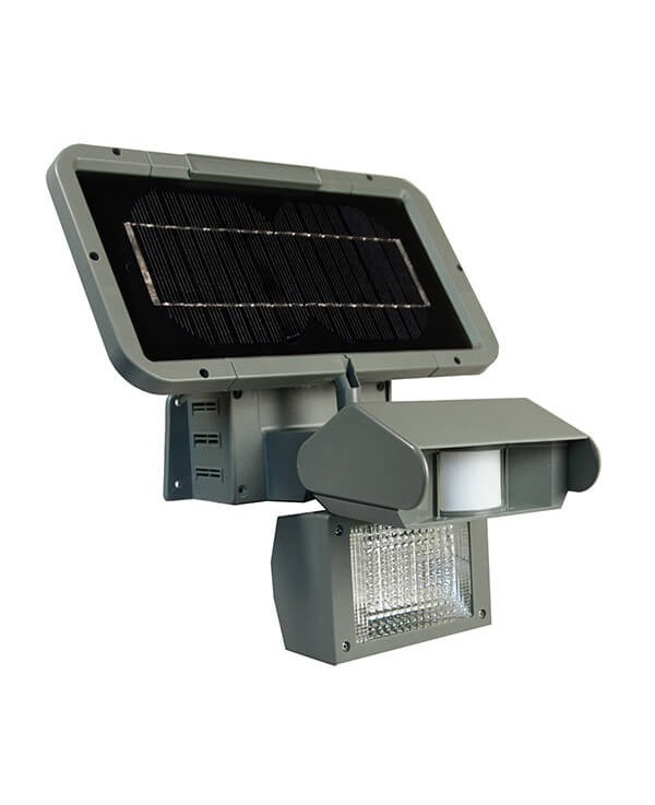 Solar Security Light With Motion Detector, Carmina 1 Light Outdoor Sconce With Motion Sensor