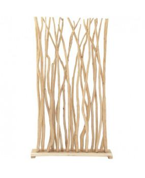 Biombo de raíz de teca