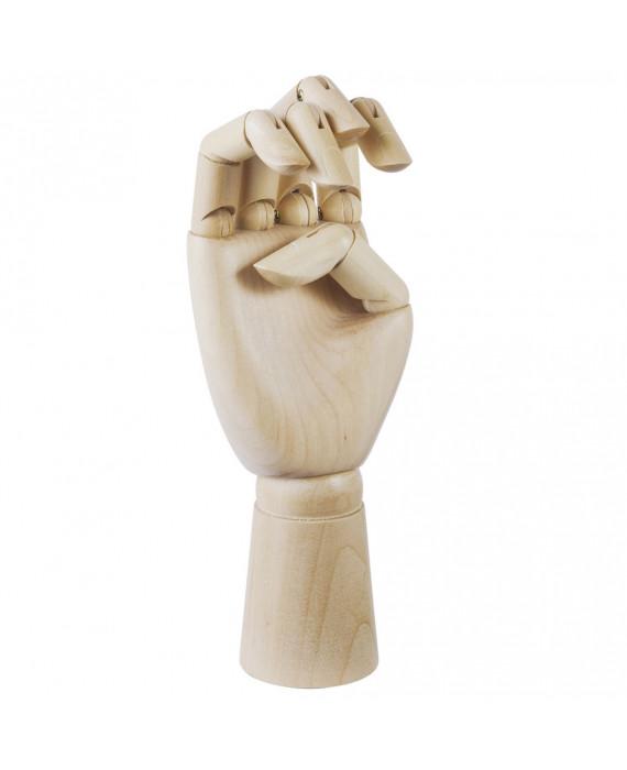 Wooden Hand Decoration
