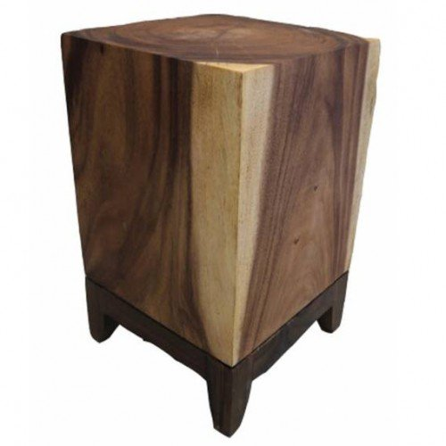 Wooden Block table