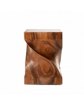Mesa de madera twisty