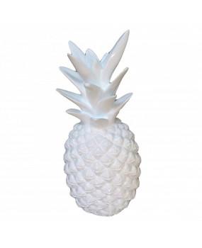 decoración Piña blanca
