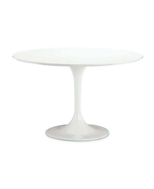 Round fiberglass table