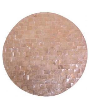 Capiz shell table mats