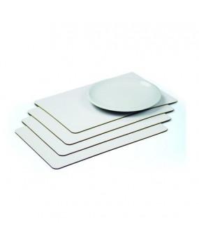 Reversable table matt set