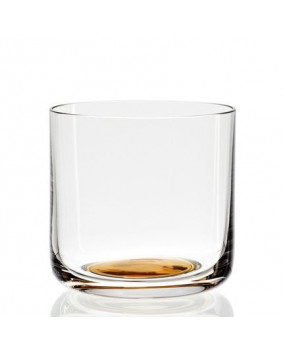 HAY Gold spot drinking glass