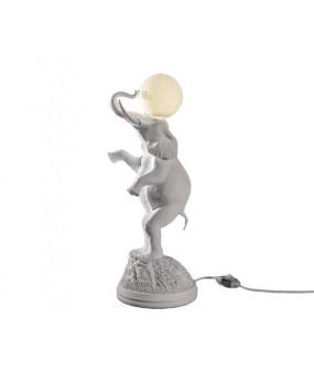 Lámpara de sobremesa elefante y luna