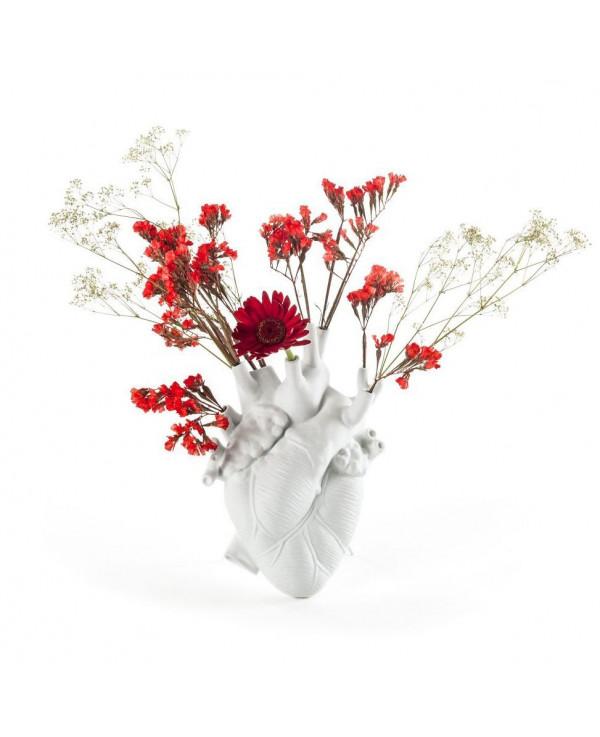 Amor en flor ! Florero corazón