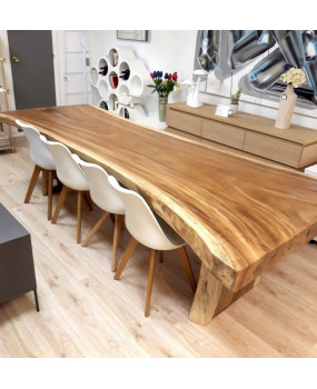 3 Meter Suar wood table