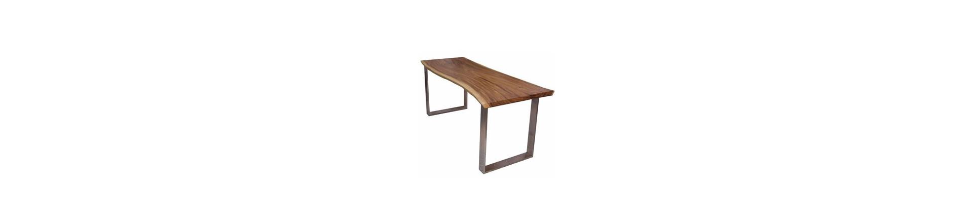 Mesas de diseño de madera, fibra de vidrio, cristal, hecho por mano, cortado de medido