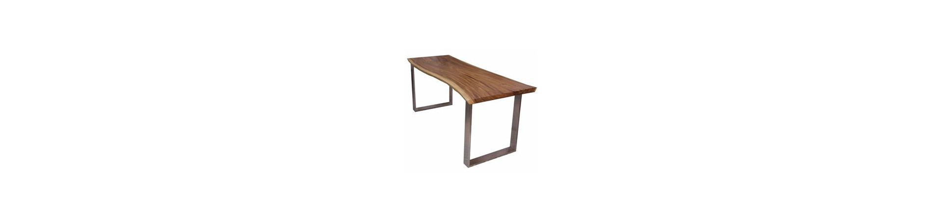 Design tables, made from natural wood, fiberglass, glass and other materials available, Cut to size available for some wood tables